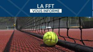 Reprise du tennis – Les informations