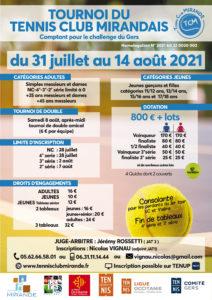 Tournoi TCM 2021